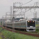 いきもの電車(小田急)とロマンスカーを撮影!まさかの変更?