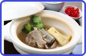 ディーンフジオカ バクテー(肉骨茶)